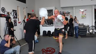 TITO ORTIZ TRAINING HARD FOR HIS TRILOGY FIGHT WITH CHUCK LIDDELL