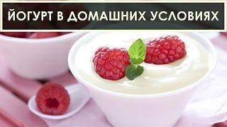 Как сделать йогурт в домашних условиях без закваски - рецепт