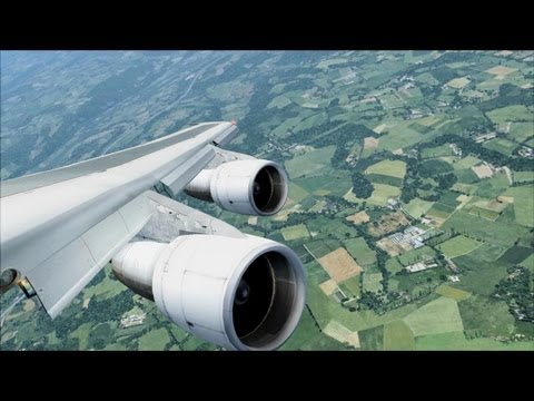 FSX Luxembourg Approach ( HD )