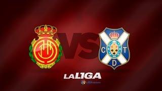 Todos los goles | All goals RCD Mallorca (2-0) CD Tenerife - HD