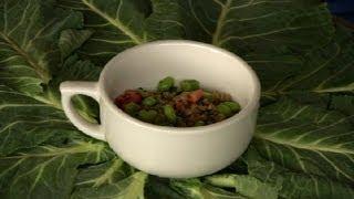 Edamame Wheatberry Salad : Asian Salads