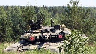 Танковая битва: Т-90 vs «Абрамс»!
