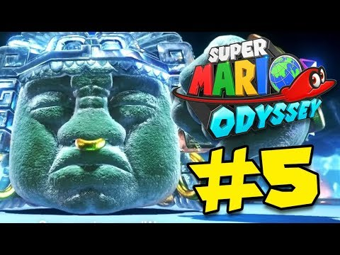 WE GOTTA Get all the Power Moons & Fight The BROODALS!!! - [Super Mario Odyssey Walkthrough #5]