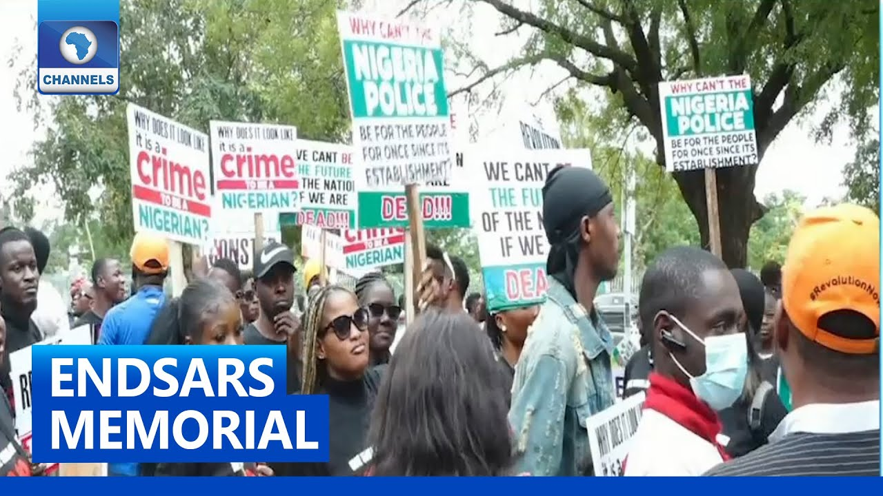 Download ENDSARS Memorial: Youths Hold Peaceful Rally In Abuja