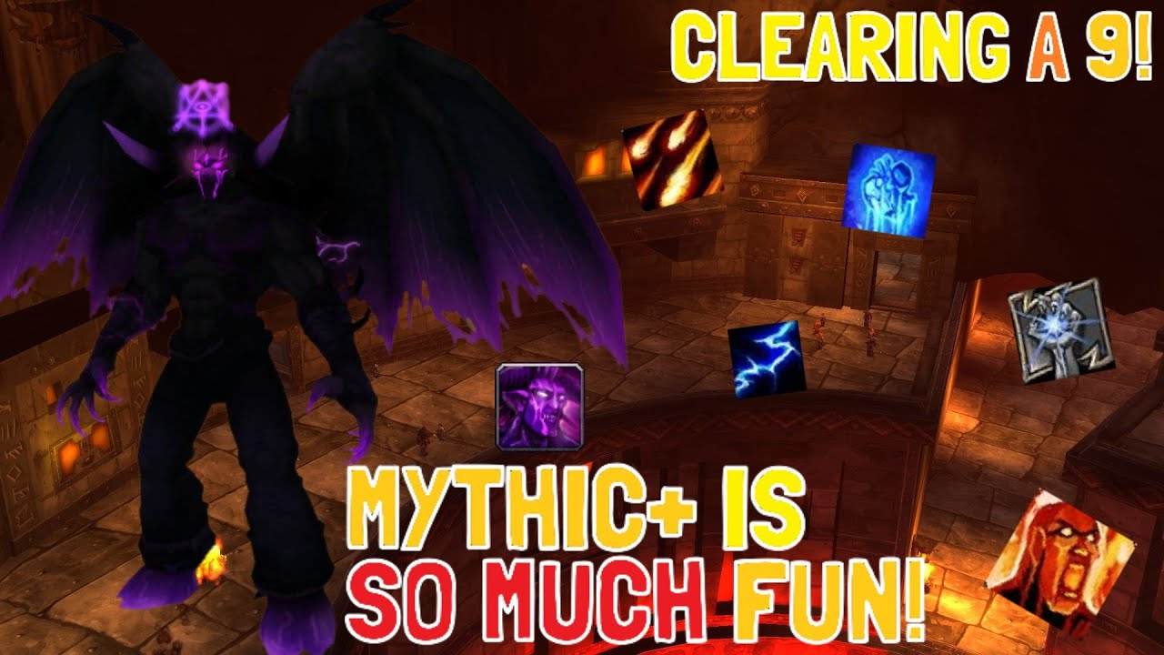 Download MYTHIC+ CLASSIC DUNGEONS ARE SO MUCH FUN!: CLEARING A 9! (Project Ascension: Season 7 Draft)