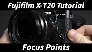 Фуджі Х-Т20 Туторіал #2: Налаштування Точок Фокусування
