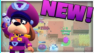 NEW BRAWLER COLONEL RUFFS SNEAK PEEK! BRAWL STARS STARR FORCE SEASON 5!