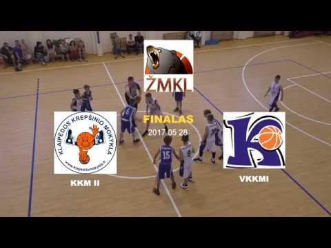 ŽMKL 2016/2017 finalas V.Knašiaus KM I - Klaipėdos KM II