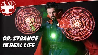 dr strange in real life spells portals more