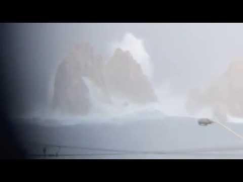 """Huracán Odile en Cabo San Lucas """"El Arco"""" vídeo de Jess Armenta"""