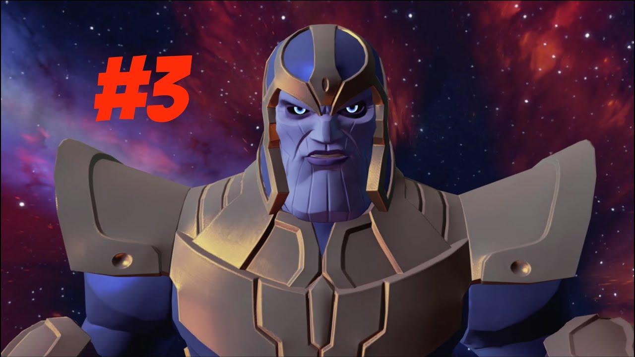 Disney Infinity 3 0 Marvel Battlegrounds Play Set 3 Thanos