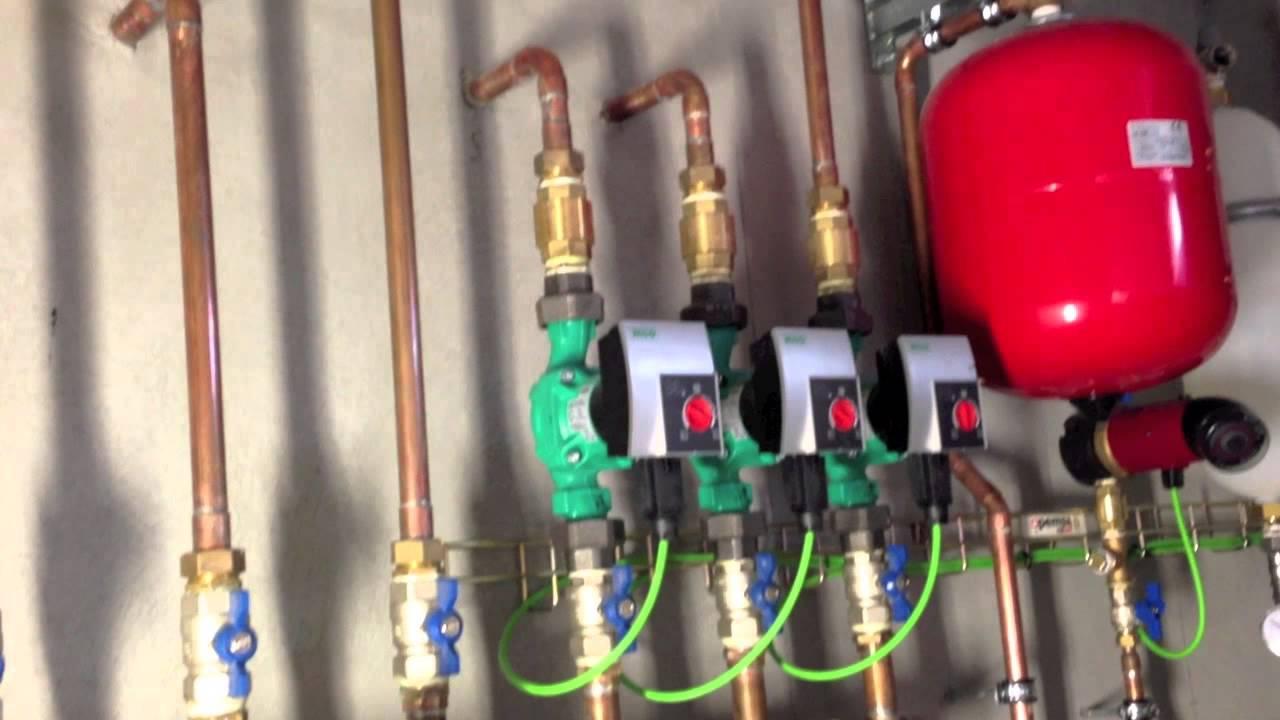 Instalacion con bomba de calor geot rmica para calefacci n for Calefaccion bomba de calor radiadores