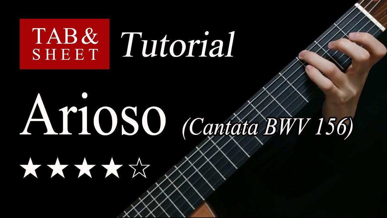 Arioso (Bach) - Guitar Lesson + TAB