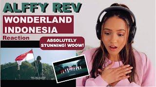 WONDERLAND INDONESIA by Alffy Rev (ft. Novia Bachmid)   REACTION!!