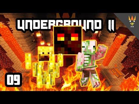 ARMOR PUSAKA DI DUNGEON BERBAHAYA! - Minecraft Underground 2 Indonesia #9