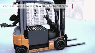Chariots élévateurs frontaux électriques Traigo 80V de Toyota Material Handling
