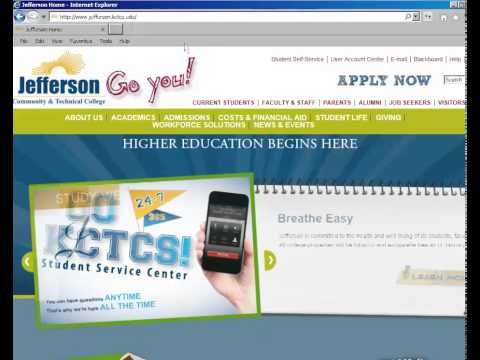 Welcome to a New Semester at Jefferson Community and Technical College