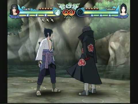 NARUTO SHIPPUDEN: Clash of Ninja Revolution 3 - Itachi v.s. Sasuke