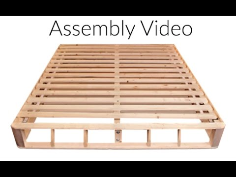 Wooden Foundation Assembly Video
