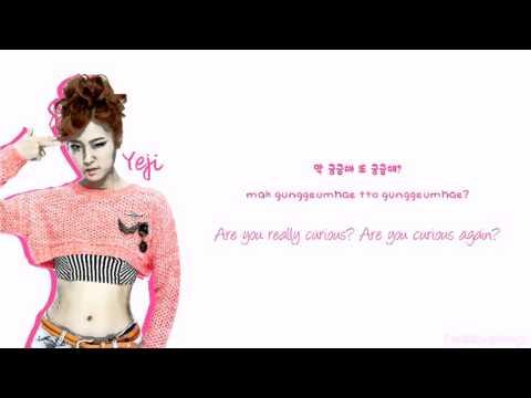 [Color Coded/Han/Eng/Rom] Blady B (블레이디) - Blood Type B Girl (B형여자)