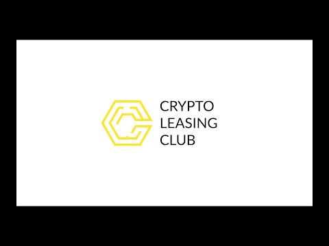 Инструкция платформы - Crypto Leasing Club