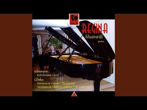"Variations in E Minor on Aliabiev's Romance ""The Nightingale"" (Nachtigall)"