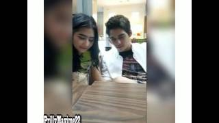 Kepoin HP Prilly Latuconsina Maxime Bouttier Bantuin Bikin Caption Di Instagram