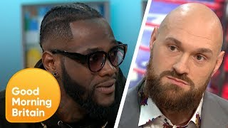 Download Deontay Wilder Vs Tyson Fury Showdown   Good Morning Britain Mp3 and Videos