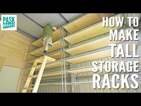 How To Make Workshop/Garage Storage Racking