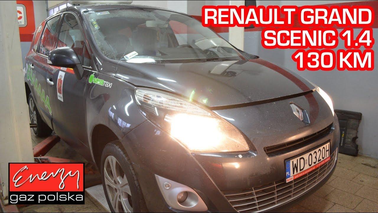 Montaż LPG Renault Grand Scenic 1.4 130 KM 2010 rok w Energy Gaz Polska na auto gaz BRC SQ 32!