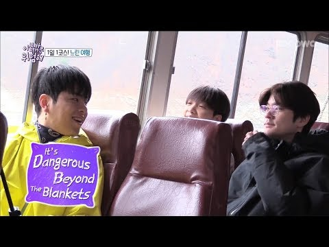 Ju Ne Gets Inspired to Write a Poem?! [It's Dangerous Beyond The Blankets Ep 3]
