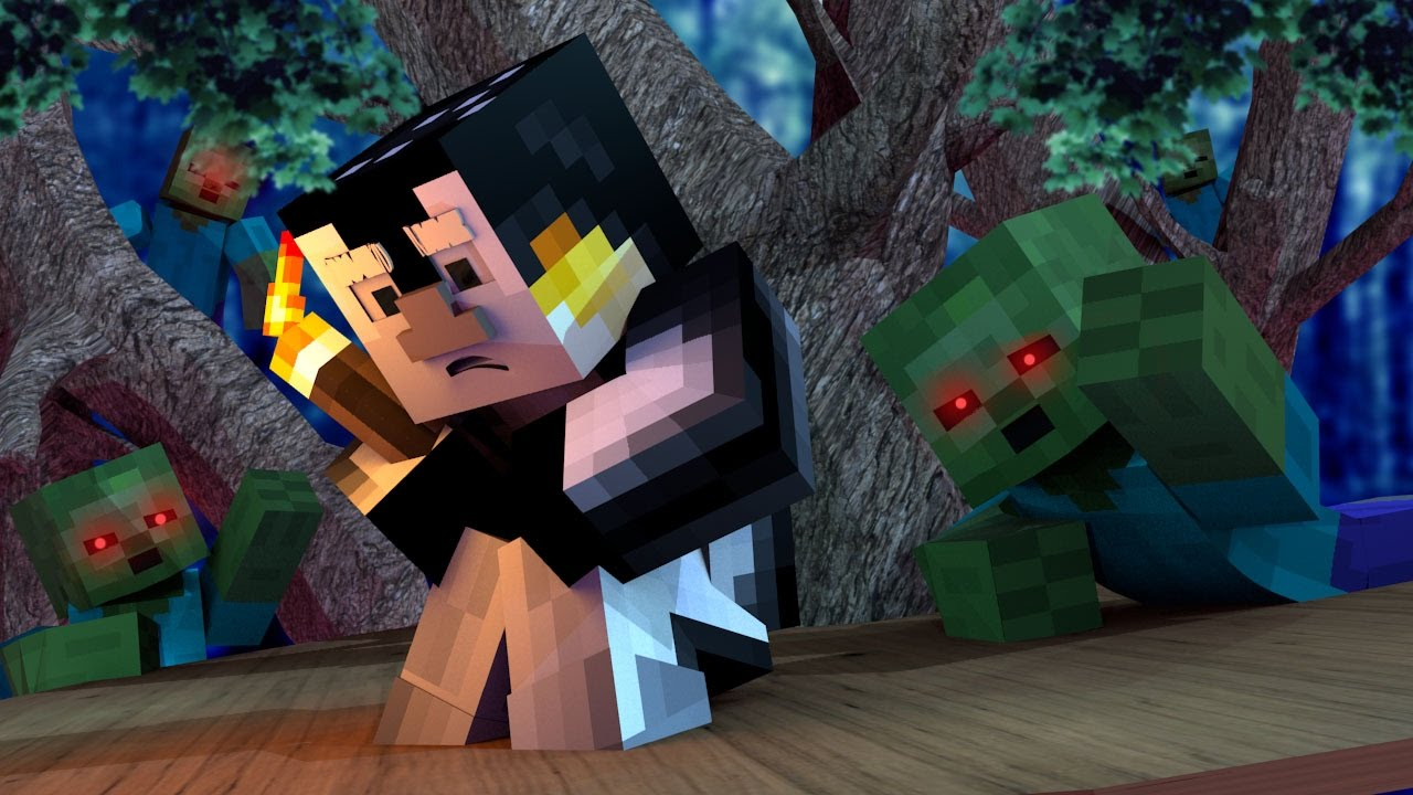 Minecraft worst nightmare how to survive a zombie for The atlantic craft minecraft
