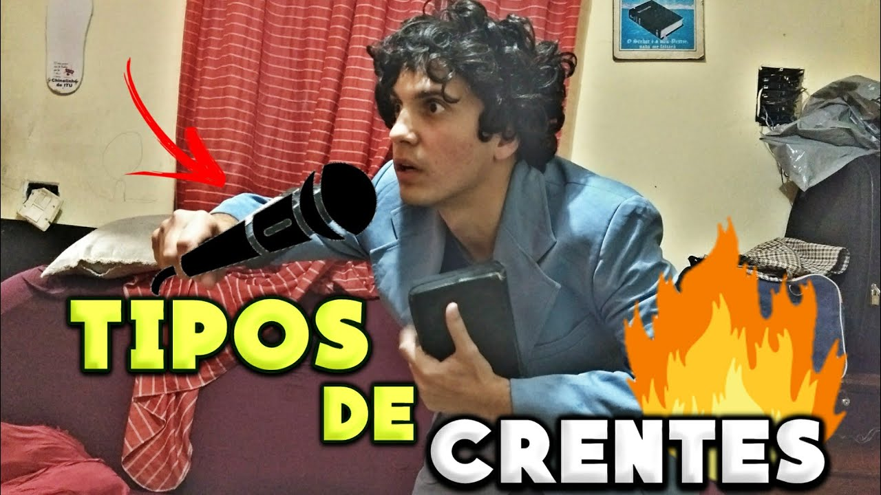 CRENTE URUBU - TIPOS DE CRENTES (HUMOR GOSPEL)