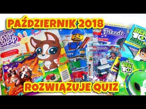 GAZETKI PAŹDZIERNIK 2018 📰 Littlest Pet Shop, Ben 10, Lego Friends i Lego City thumbnail