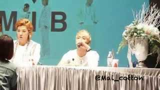 M.I.B. Fansign event @Uplex 130414 [5zic Focus] Thumbnail