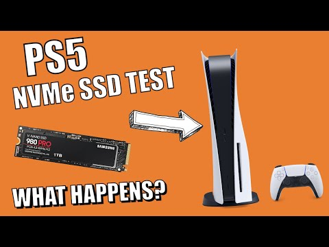 PS5 SSD Expansion Test - What Happens When You Install An NVMe SSD?