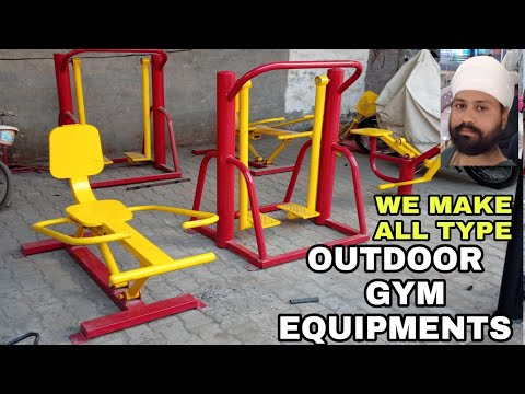 Outdoor Fitness Equipments 2018 || Open Gym Workout Machines In India