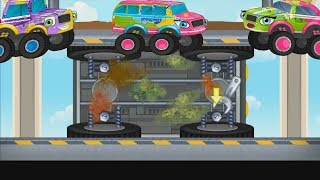 Развивающая Игра для детей Безопасный Автомобиль Обучение как чинить машину.