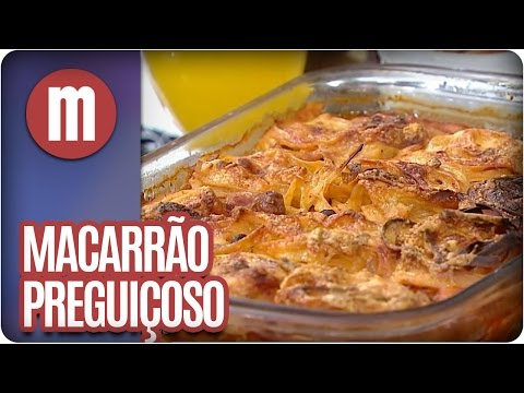 Mulheres - Macarrão Preguiçoso (05/05/16)