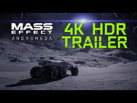 Mass Effect: Andromeda 4K HDR Exclusive Tech Trailer