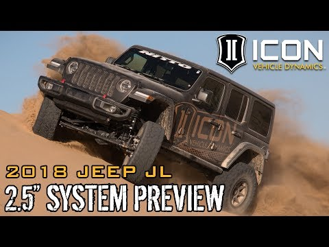 """ICON Vehicle Dynamics Jeep JL 2.5"""" System Preview"""