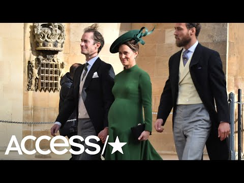 Pregnant Pippa Middleton Wows At Princess Eugenie's Wedding | Access