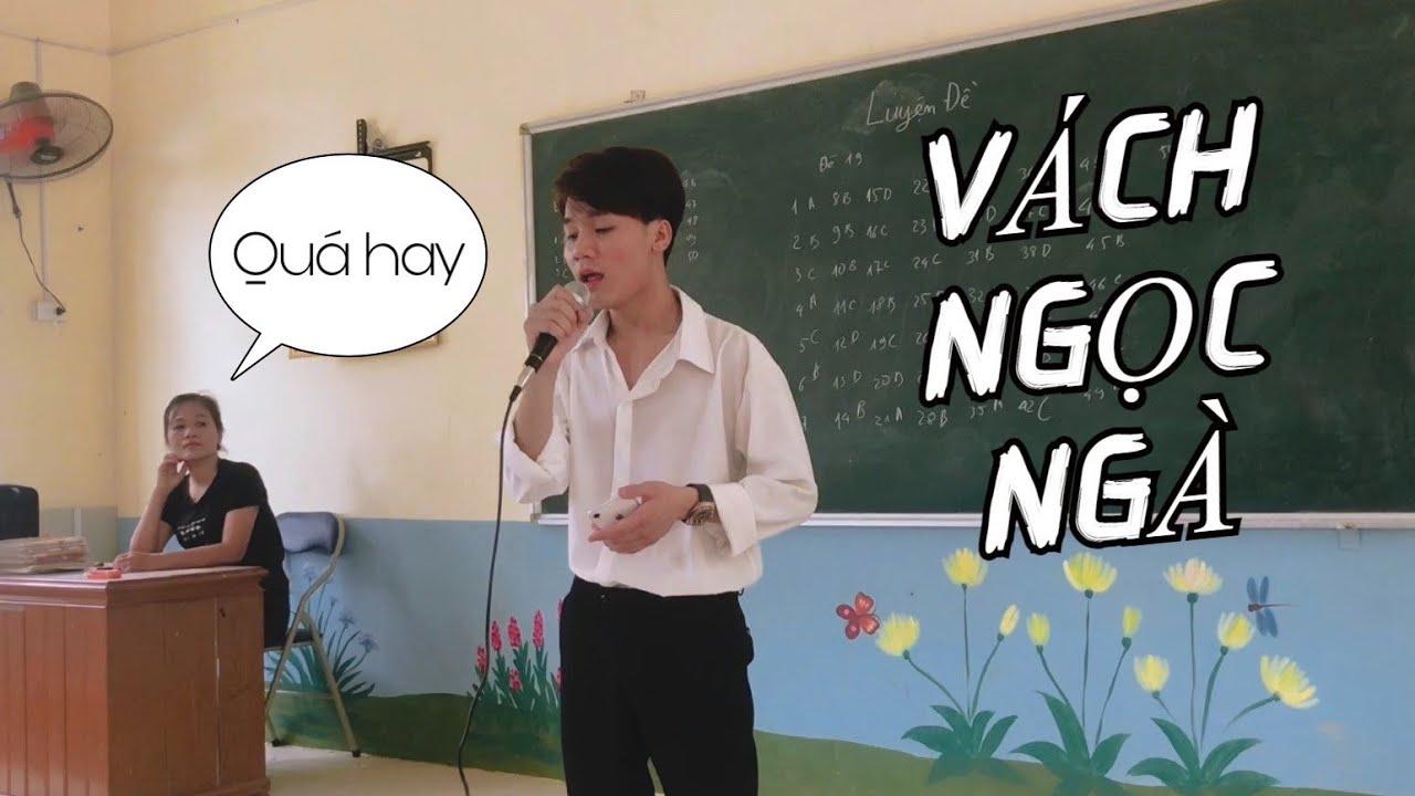 VÁCH NGỌC NGÀ - Anh Rồng | Hà Huy cover trên lớp | Hà Huy official