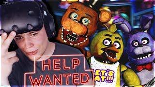 KOSZMAR Z FREDDYM! - Five Nights at Freddy's VR: Help Wanted #9