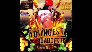 DJ STEVEN Ft DJ BEN-G YOUNGEST AND BADDEST DANCEHALL MIX JULY 2014