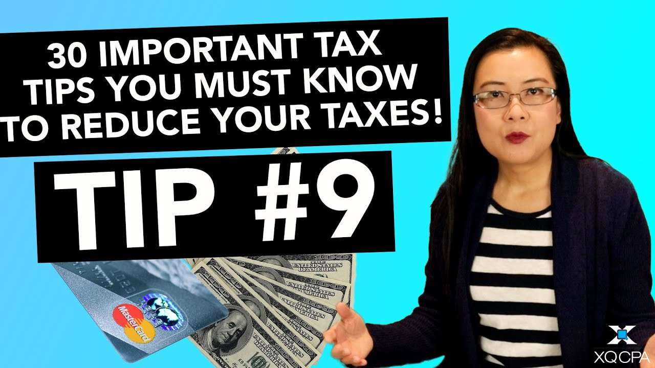 30 Important Tax Tips You Must Know to Reduce Your Taxes! - #9 Missing Credit Card Expenses