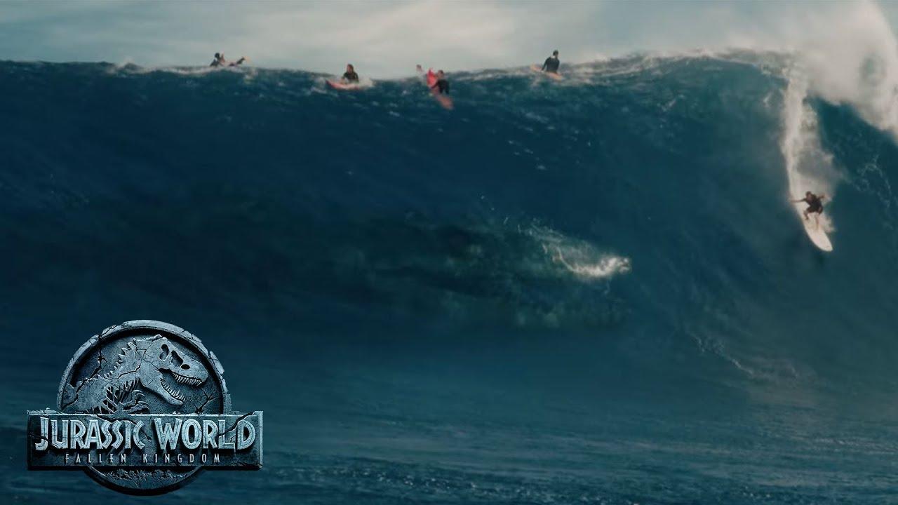 Image result for jurassic park surf