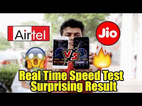 Airtel Vs Jio Speedtest Ka Sach, Delhi NCR 4G Coverage Shocking Results