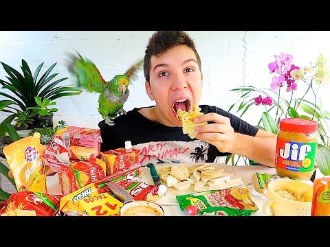 Cheese & Crackers • MUKBANG
