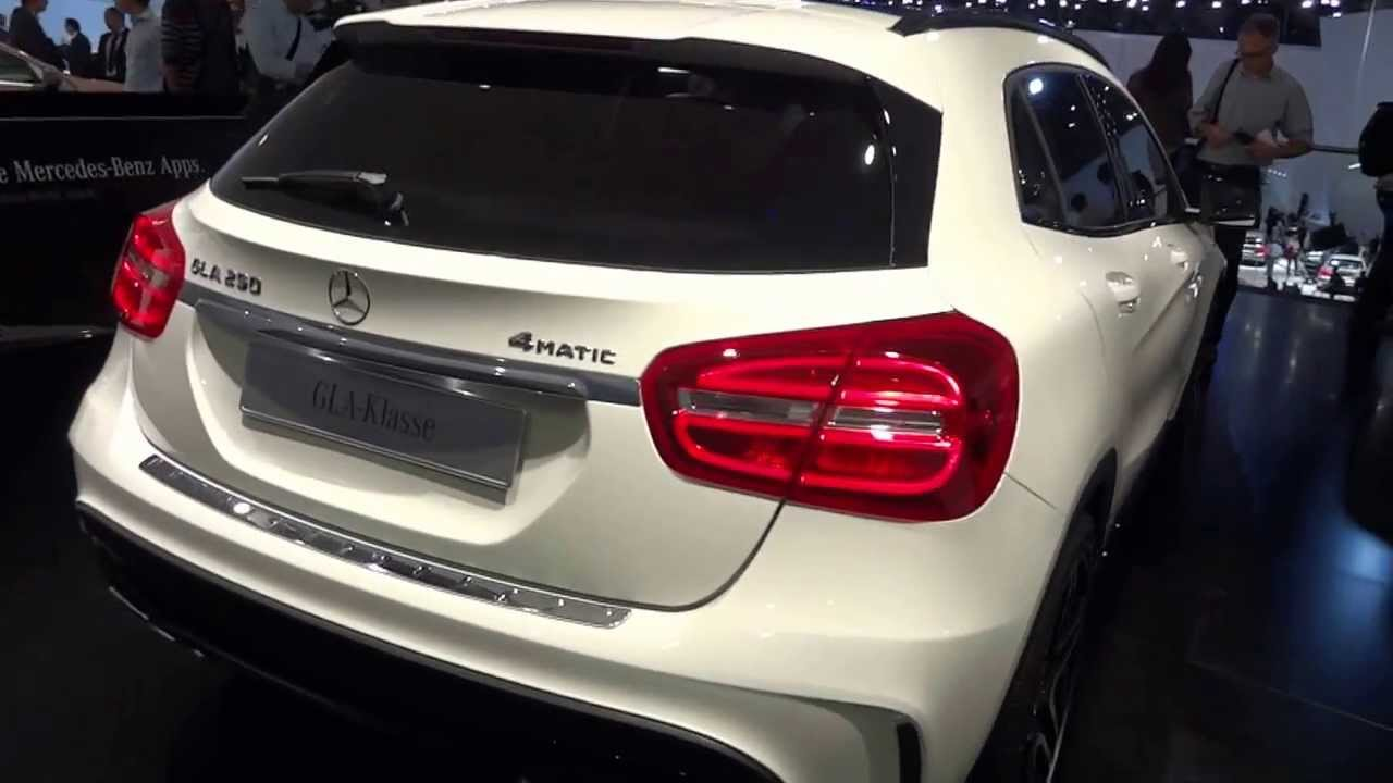 mercedes gla 250 4matic 2013 frankfurt motor show. Black Bedroom Furniture Sets. Home Design Ideas
